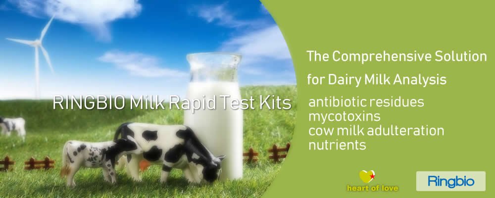 Comprehensive Dairy Milk Rapid Test Solutions from RINGBIO