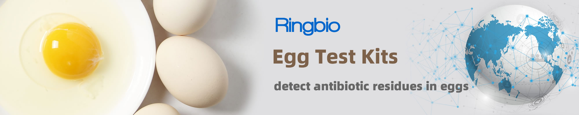Rapid Test Kits to detect antibiotics in Eggs in 10min with simple dilution